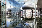Specchi d'acqua tra i padiglioni della Fiera Milano Rho