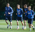 Kevin Kyle, Dean Shiels, Lee McCulloch and David Templeton