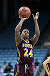 21 November 2015: Iona's Joy Adams. The University of North Carolina Tar Heels hosted the Iona College Gaels at Carmichael Arena in Chapel Hill, North Carolina in a 2015-16 NCAA Division I Women's Basketball game. UNC won the game 64-52.
