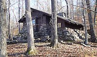 NWA Democrat-Gazette file/ANDY SHUPE<br /> Cabins with fireplaces offer cozy     Nov. 19, 2015          lodging at Devil's Den.