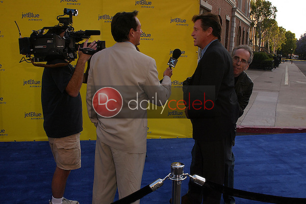 Robert Hays and Jerry Zucker<br /> at the launch of Jet Blue out of Burbank and 25th anniversary screening of &quot;Airplane&quot; at Warner Bros. Studios, Burbank, CA 06-13-05<br /> David Edwards/DailyCeleb.Com 818-249-4998