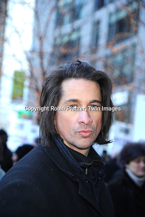 Michael Easton.at The Time Warner Center at a march by Daytime Actors in .support of the Writers Guild of America Strike which is entering it's 7th week on December 17, 2007. .Robin Platzer, Twin Images.