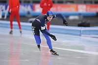 SCHAATSEN: AMSTERDAM: Olympisch Stadion, 01-03-2014, KPN NK Sprint/Allround, Coolste Baan van Nederland, Moniek Klijnstra, ©foto Martin de Jong
