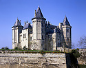 AA00414-01...FRANCE - Chateau Saumer in the Loire Valley.
