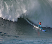 Greg Long at the bottom of his perfect 10 in the Finals
