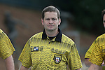 21 August 2015: Assistant Referee Ben Wooten. The Duke University Blue Devils played the Fresno State Bulldogs at Fetzer Field in Chapel Hill, NC in a 2015 NCAA Division I Women's Soccer game. Duke won the game 5-0.