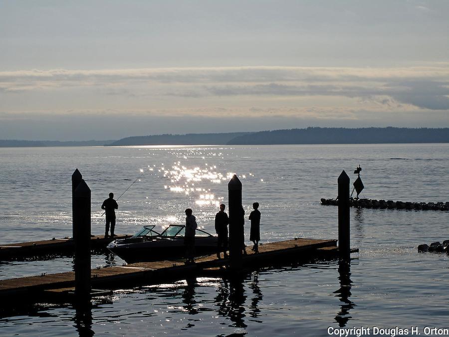 Redondo beach washington boat ramp near des moines on for Seattle fishing pier