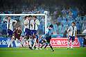 Kengo Nakamura (Frontale), MAY 29th, 2011 - Football : Kengo Nakamura (14) of Kawasaki Frontale scores his team's second goal from a free kick during the 2011 J.League Division 1 match between between Kawasaki Frontale 2-1 Gamba Osaka at Todoroki Stadium in Kanagawa, Japan. (Photo by AFLO).
