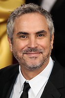 HOLLYWOOD, LOS ANGELES, CA, USA - MARCH 02: Alfonso Cuaron at the 86th Annual Academy Awards held at Dolby Theatre on March 2, 2014 in Hollywood, Los Angeles, California, United States. (Photo by Xavier Collin/Celebrity Monitor)