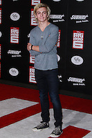 HOLLYWOOD, LOS ANGELES, CA, USA - NOVEMBER 04: Ellington Ratliff, R5 arrives at the Los Angeles Premiere Of Disney's 'Big Hero 6' held at the El Capitan Theatre on November 4, 2014 in Hollywood, Los Angeles, California, United States. (Photo by David Acosta/Celebrity Monitor)