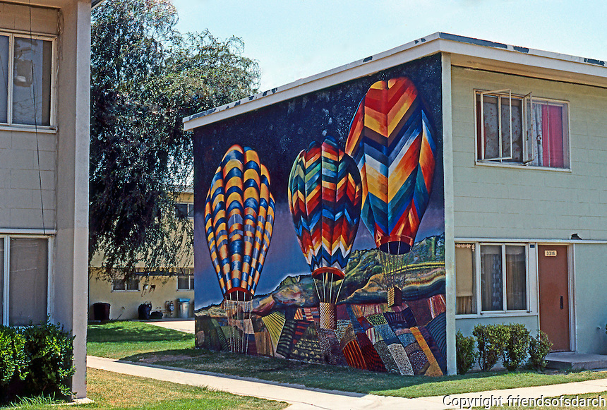 Los Angeles: Estrada Court, Boyle Heights. Photo '85.