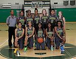 12-8-14, Huron High School girl's varsity basketball team