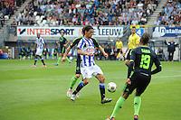VOETBAL: HEERENVEEN: Abe Lenstra Stadion, 02-09-2012, Eredivisie 2012-2013, SC Heerenveen - Ajax, Eindstand 2-2, Daniel de Ridder (#6 | SCH), ©foto Martin de Jong
