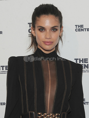 NEW YORK, NY - APRIL 20:Sara Sampaio attends the the LGBT Community Center gala at Cipriani Wall street on April 20, 2017  in New York City. Photo by John Palmer/MediaPunch