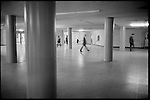 Inside the basement of the Pentagon. Arlington, Virginia, USA, Febuary 1975.