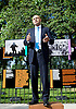 Secretary of State for Culture, Media and Sport Rt Hon Sajid Javid MP officially reopens Speakers&rsquo; Corner in Hyde Park following its refurbishment.<br />
