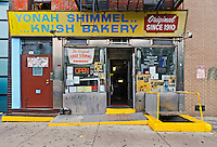 Yonah Shimmel's Knish Bakery, Lower East Side, Houston Street, Manhattan, New York City, New York, USA