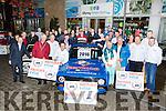Killarnney mayor Brendan Cronin launched the Killarney Rally in Scotts Hotel on Sunday night
