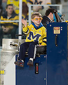 The University of Michigan ice hockey team beat Northern Michigan, 3-2, in the first game of a best-of-three series at Yost Ice Arena in Ann Arbor, Mich., on March 8, 2013.