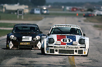 Brumos Racing drivers Peter Gregg and Jim Busby started on the pole in 1977 and finished 3rd at the end of the 12 Hours. This portion of the Sebring circuit has been reconfigured and no longer exists.