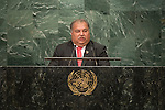 Address by His Excellency Baron Divavesi Waqa, President of the Republic of Nauru <br /> <br /> <br /> General Assembly Seventy-first session 10th plenary meeting<br /> General Debate