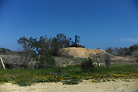 near Tripoli, Libya, March 25, 2011..A radar, part of a Libyan ground-to-air missile system lay destroyed by a Coalition air strike near the coastal highway some 25km east from Tripoli..