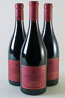 Methven Family Vineyards three bottles
