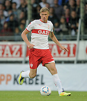 Fussball 1. Bundesliga 2011/2012  Testspiel   13.07.2011 Stuttgarter Kickers - VfB Stuttgart Pavel Pogrebnyak  (VfB Stuttgart) am Ball