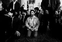 Teheran, Iran, March 30, 2007.Iranian President Mahmoud Ahmadinejad attends the Friday prayer at the University of Teheran, under the direction of Ayatollah Ahmad Khamenei, Imam of Teheran.