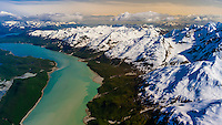 USA-Alaska-Southeast-Glacier Bay National Park-Aerial Views