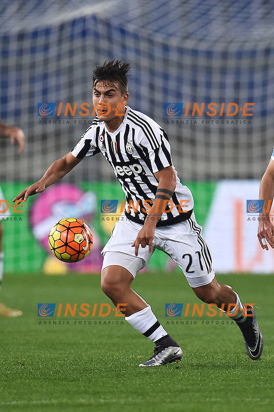 Paulo Dybala Juventus <br /> Roma 04-12-2015 Stadio Olimpico Football Calcio 2015/2016 Serie A Lazio - Juventus Foto Andrea Staccioli / Insidefoto