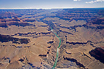 Helicopter tour, Grand Canyon, Arizona, USA<br />