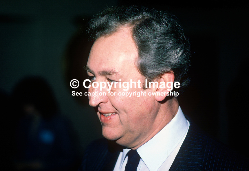 Dr George Chambers, chief executive, Milk Marketing Board for N Ireland, 19840020GC..Copyright Image from Victor Patterson, 54 Dorchester Park, Belfast, UK, BT9 6RJ..Tel: +44 28 9066 1296.Mob: +44 7802 353836.Voicemail +44 20 8816 7153.Skype: victorpattersonbelfast.Email: victorpatterson@me.com.Email: victorpatterson@ireland.com (back-up)..IMPORTANT: If you wish to use this image or any other of my images please go to www.victorpatterson.com and click on the Terms & Conditions. Then contact me by email or phone with the reference number(s) of the image(s) concerned.