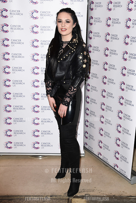 Sam Lavery arriving at James Ingham&rsquo;s Jog On to Cancer, in aid of Cancer Research UK at The Roof Gardens in Kensington, London.  <br /> 12 April  2017<br /> Picture: Steve Vas/Featureflash/SilverHub 0208 004 5359 sales@silverhubmedia.com