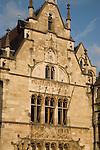 Riverside facades in Ghent, Belgium, Europe