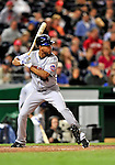 29 September 2009: New York Mets' shortstop Wilson Valdez in action against the Washington Nationals at Nationals Park in Washington, DC. The Nationals rallied to defeat the Mets 4-3 in the second game of their final 3-game home series. Mandatory Credit: Ed Wolfstein Photo