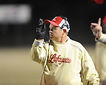 Lafayette High coach Anthony Hart vs. Louisville in MHSAA 4A playoff action at William L. Buford Field in Oxford, Miss. on Friday, November 18, 2011. Lafayette won 28-6 and will advance to play Amory.