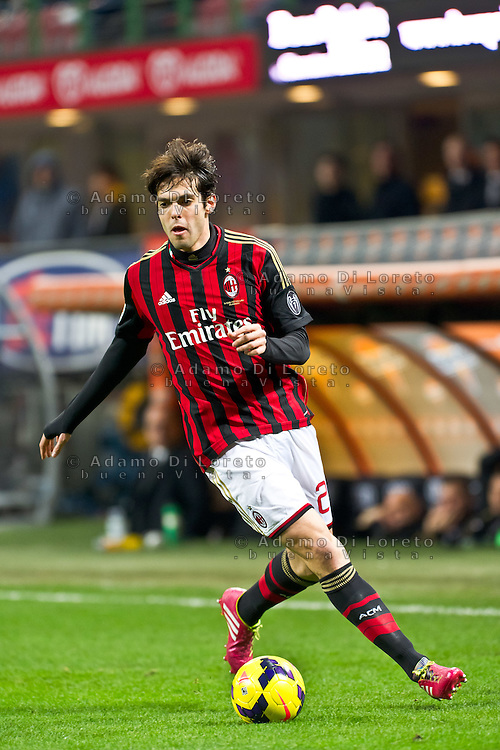 Kaka (Milan) during the Serie Amatch between Milan vs Bologna, on February 14, 2014. Photo: Adamo Di Loreto/BuenaVista*photo