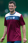 St Johnstone FC Training...<br /> John Sutton<br /> Picture by Graeme Hart.<br /> Copyright Perthshire Picture Agency<br /> Tel: 01738 623350  Mobile: 07990 594431