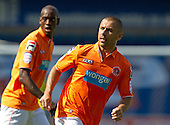 Kevin Phillips of Blackpool FC - Millwall vs Blackpool - NPower Championship Football at the New Den, London - 18/08/12 - MANDATORY CREDIT: Ray Lawrence/TGSPHOTO - Self billing applies where appropriate - 0845 094 6026 - contact@tgsphoto.co.uk - NO UNPAID USE.
