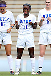 01 September 2013: Duke's Toni Payne. The Duke University Blue Devils played the University of New Mexico Lobos at Fetzer Field in Chapel Hill, NC in a 2013 NCAA Division I Women's Soccer match. Duke won the game 1-0.