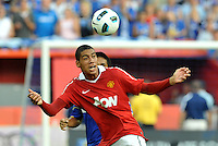 Chris Smalling...Kansas City Wizards defeated Manchester United 2-1 in an international friendly at Arrowhead Stadium, Kansas City, Missouri.