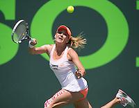 AGNIESZKA RADWANSKA (POL)<br /> <br /> Tennis - Sony Open -  Miami -   ATP-WTA - 2014  - USA  -  26 March 2014. <br /> <br /> &copy; AMN IMAGES