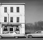 Bar in town somewhere in New York State. 1977