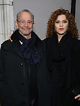 Joel Grey and Bernadette Peters attends the Broadway Opening Night of 'Lillian Helman's The Little Foxes' at the  Samuel J. Friedman Theatre on April 19, 2017 in New York City