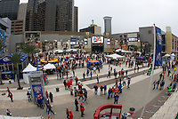 Events at Champion Square before Florida vs Louisville during 79th Sugar Bowl game at Mercedes-Benz Superdome in New Orleans, Louisiana on January 2nd, 2013.