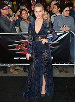 Julianne Hough at the Los Angeles premiere for &quot;XXX: Return of Xander Cage&quot; at the TCL Chinese Theatre, Hollywood. Los Angeles, USA 19th January  2017<br /> Picture: Paul Smith/Featureflash/SilverHub 0208 004 5359 sales@silverhubmedia.com