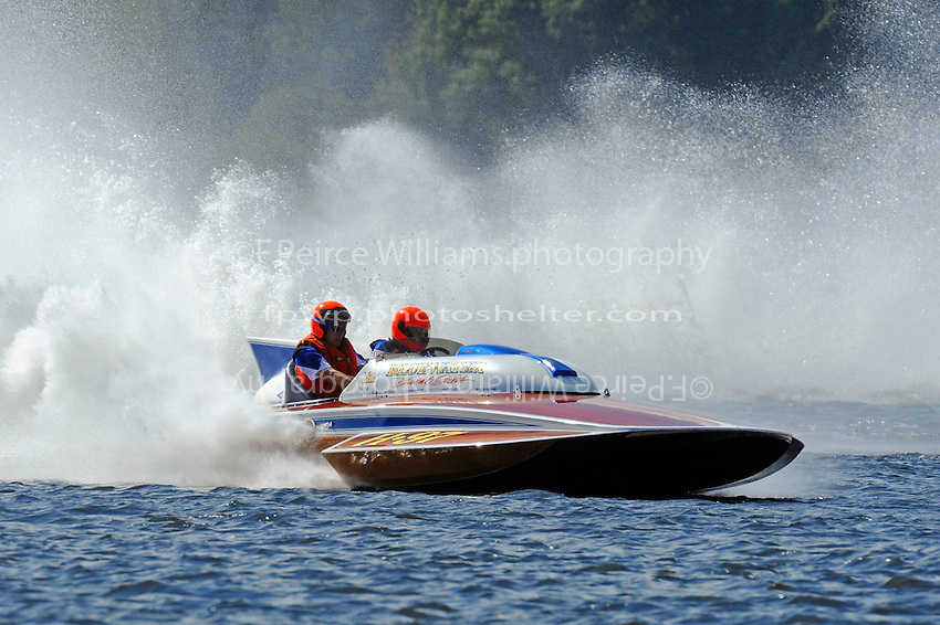 "Chris Hall, H-97 ""Bluewater Special"" (2-seat 7 Litre Div I class Lauterbach hydroplane)"
