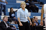 16 December 2014: UNC head coach Sylvia Hatchell. The University of North Carolina Tar Heels hosted the Oregon State University Beavers at Carmichael Arena in Chapel Hill, North Carolina in a 2014-15 NCAA Division I Women's Basketball game. Oregon State won the game 70-55.