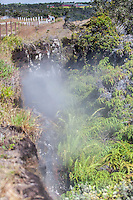 Steam vent at Hawai'i Volcanoes National Park, Big Island.
